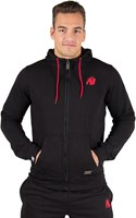 Gorilla Wear Classic Zipped Hoodie Black-2
