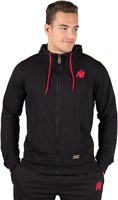 Gorilla Wear Classic Zipped Hoodie Black-1