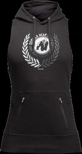 Gorilla Wear Manti Sleeveless Hoodie - Zwart