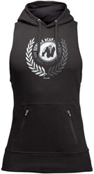 Gorilla Wear Manti Sleeveless Hoodie - Black