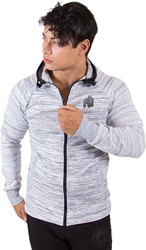 Gorilla Wear Keno Zipped Hoodie - White/Black