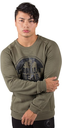 Gorilla Wear Bloomington Crewneck Sweatshirt - Army Green