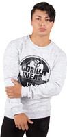 Gorilla Wear Bloomington Crewneck Sweatshirt - Mixed Gray