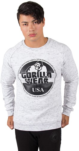 Gorilla Wear Bloomington Crewneck Sweatshirt - Mixed Gray-2