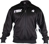 Gorilla Wear Track Jacket Black/White-1