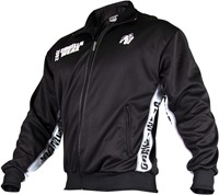 Gorilla Wear Track Jacket Black/White-2