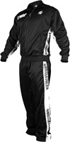 Gorilla Wear Track Jacket Black/White-3