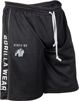 Gorilla Wear Functional Mesh Short (Black/White)-1