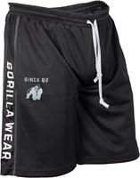 Gorilla Wear Functional Mesh Short (Black/White)
