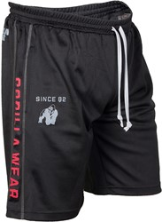 Gorilla Wear Functional Mesh Short (Black/Red)