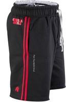 Gorilla Wear 82 Sweat Shorts- Black/Red-2