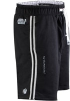 Gorilla Wear 82 Sweat Shorts- Black/Grey-1