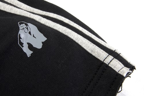 Gorilla Wear 82 Sweat Shorts- Black/Grey-2