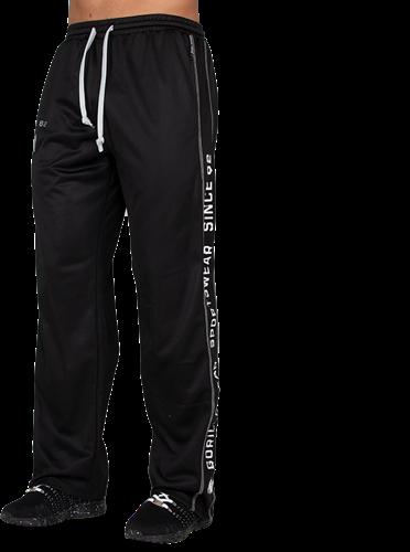Gorilla Wear Functional Mesh Trainingsbroek - Zwart/Wit