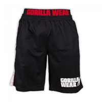 Gorilla Wear California Mesh Shorts Black/Red-2