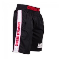 Gorilla Wear California Mesh Shorts Black/Red-1