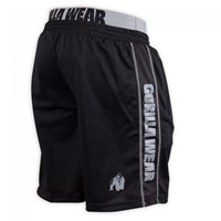 Gorilla Wear California Mesh Shorts Black/Grey-1