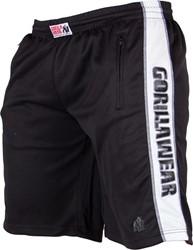 Gorilla Wear Track Shorts Black/White
