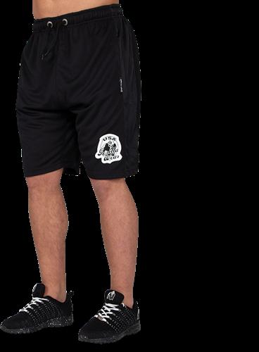 Gorilla Wear GW Athlete Oversized Shorts Zwart