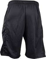 Gorilla Wear GW Athlete Oversized Shorts Black-2