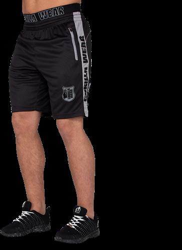 Gorilla Wear Shelby Shorts - Zwart/Grijs