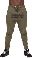 Gorilla Wear Alabama Drop Crotch Joggers - Army Green - XL
