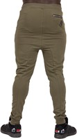 Gorilla Wear Alabama Drop Crotch Joggers - Army Green - XL-2