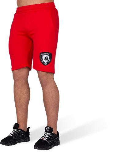 Gorilla Wear Los Angeles Sweat Shorts - Rood