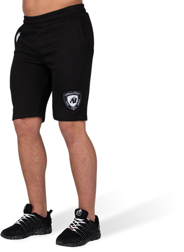 Gorilla Wear Los Angeles Sweat Shorts - Zwart