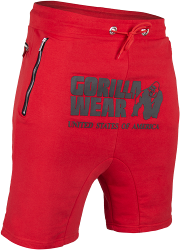 Gorilla Wear Alabama Drop Crotch Shorts - Red