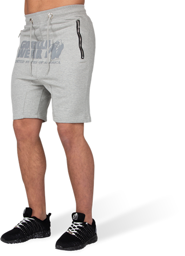 Gorilla Wear Alabama Drop Crotch Shorts - Grijs