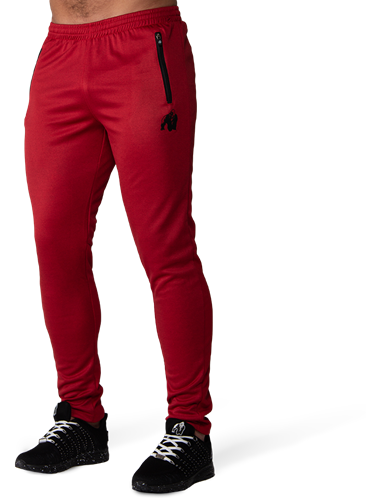 Gorilla Wear Ballinger Trainingsbroek - Rood/Zwart