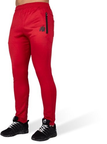 Gorilla Wear Bridgeport Joggingsbroek - Rood