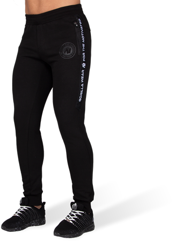 Gorilla Wear Saint Thomas Joggingbroek - Zwart