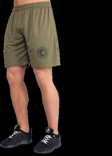 Gorilla Wear Forbes Shorts - Legergroen