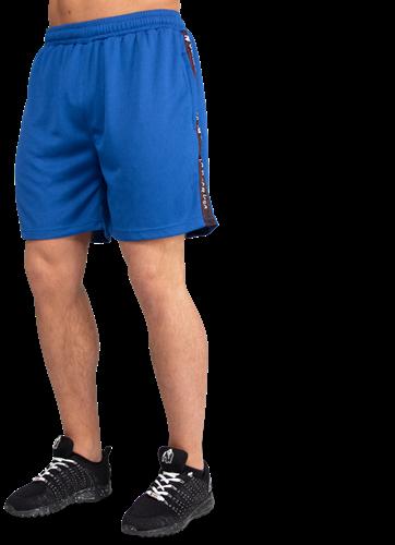 Gorilla Wear Reydon Mesh Shorts - Blauw