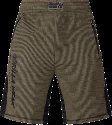 Gorilla Wear Augustine Old School Shorts - Army Green