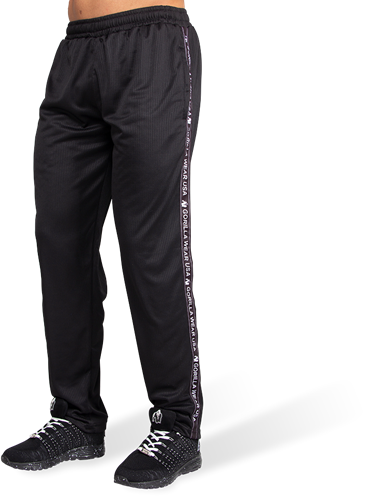 Gorilla Wear Reydon Mesh Trainingsbroek - Zwart
