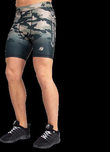 Gorilla Wear Franklin Shorts - Legergroen Camo