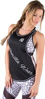 Gorilla Wear Florida Stringer Tank Top Black/White-1