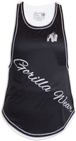 Gorilla Wear Florida Stringer Tank Top Black/White-3