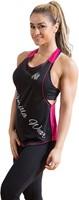 Gorilla Wear Florida Stringer Tank Top Black/Pink-1