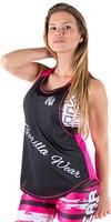 Gorilla Wear Florida Stringer Tank Top Black/Pink-2