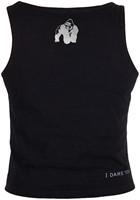 Gorilla Wear Oakland Crop Tank Black/Neon Lime Camo-3