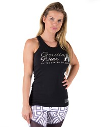 Gorilla Wear Florence Tank Top - Black/Silver