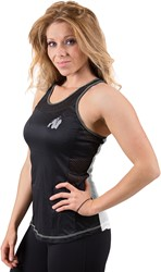 Gorilla Wear Marianna Tank Top - Black/ White