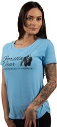 Gorilla Wear Lodi T-Shirt - Light Blue