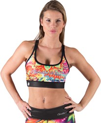 Gorilla Wear Venice Sport Bra - Multi Color Mix