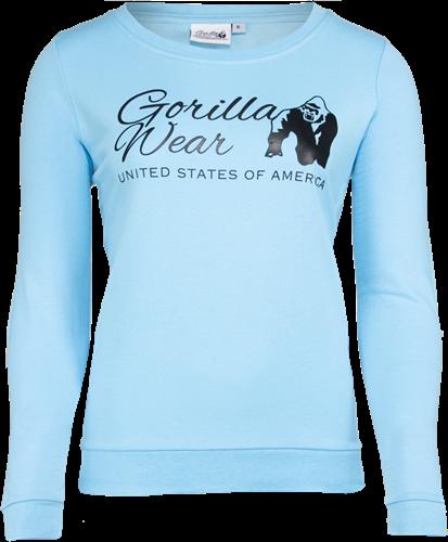 Gorilla Wear Riviera Sweatshirt - Lichtblauw