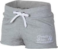Gorilla Wear Womens New Jersey Sweat Shorts Grey-1